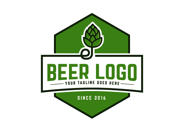 Unique stock logo online in minutes create your brand for Beer logo creator
